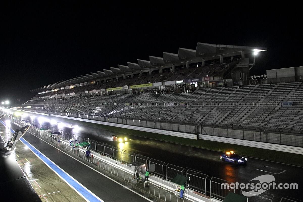 富士24時間レース|4時間30分の中断を経てレース再開するも、悪天候が続く