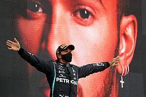 Podcast: Hamilton schittert in Portugal, Albon stelt (weer) teleur