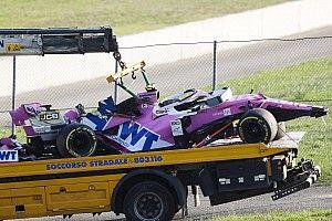 Race tegen de klok voor Racing Point na crash Stroll op Mugello