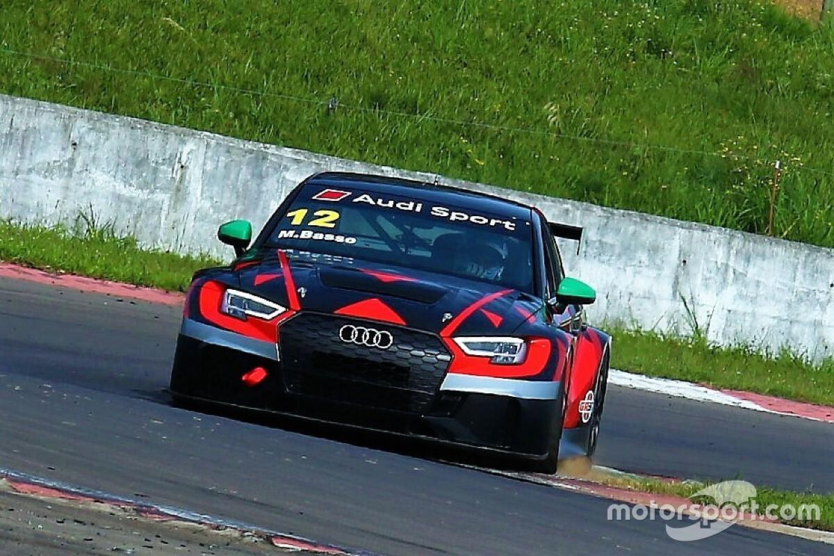 Em teste de desenvolvimento, Audi do TCR South America impressiona com marcas entre Stock Car e Light