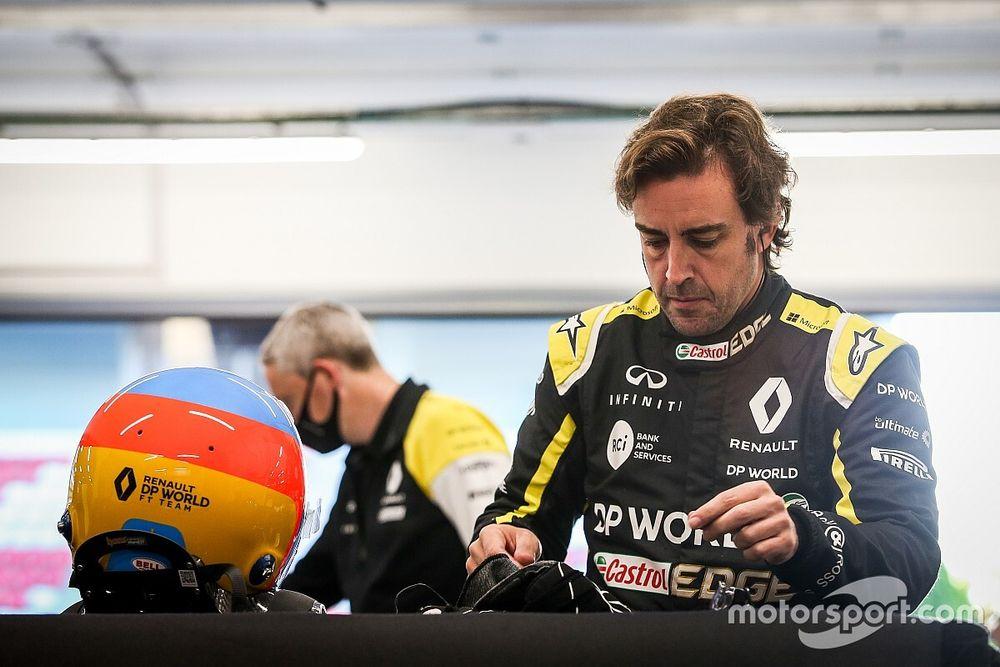 """Alonso devrait être """"pleinement opérationnel"""" pour débuter la saison"""