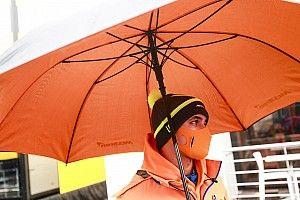 F1: Así se divirtieron los pilotos en el lluvioso viernes