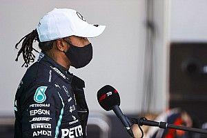 Hamilton quería una estrategia diferente a la de su equipo