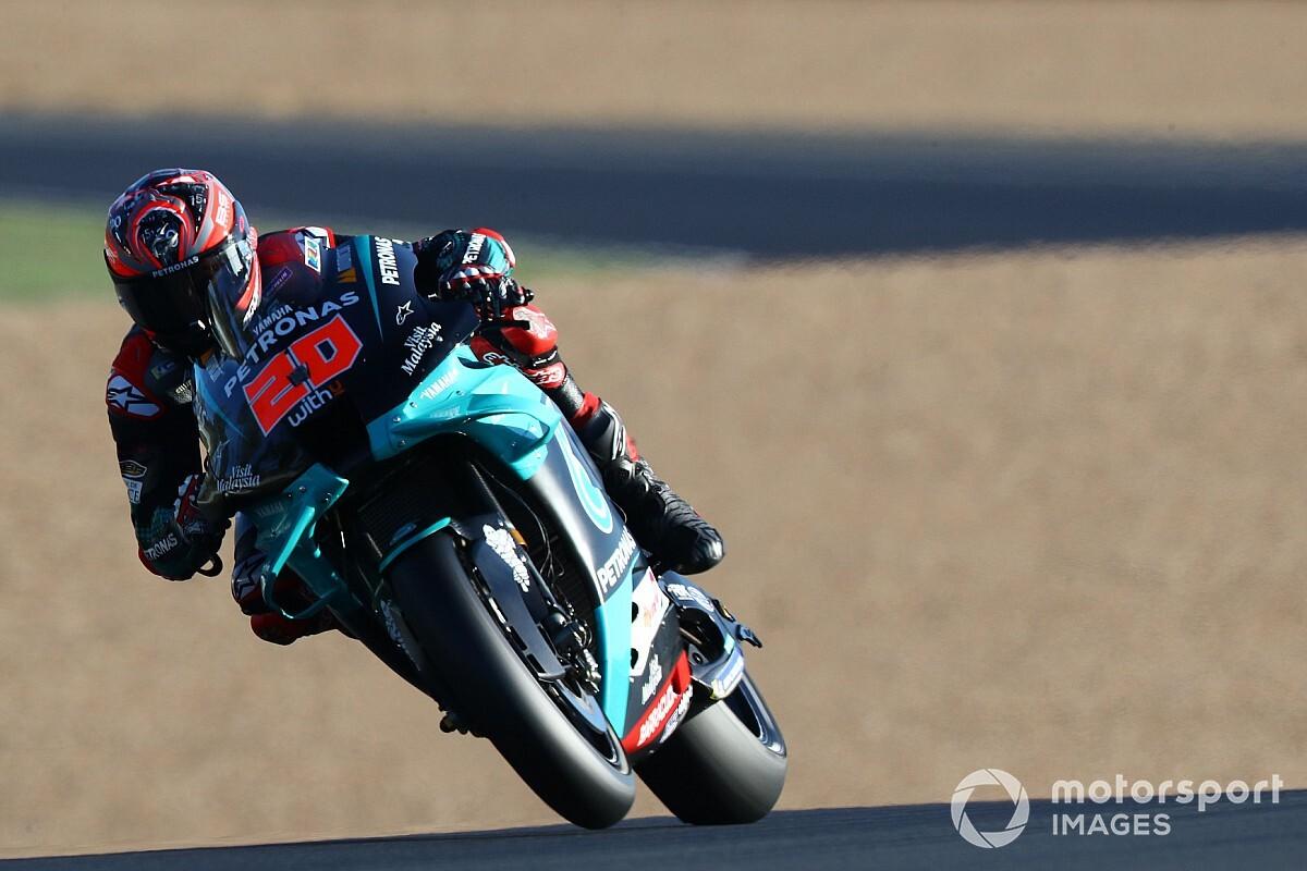 MotoGP Fransa: Quartararo evinde pole pozisyonunda, en yakın rakibi Mir 14.