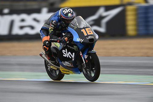 Moto3 Le Mans FT1: Andrea Migno fährt bei sturzreichem Auftakt die Bestzeit
