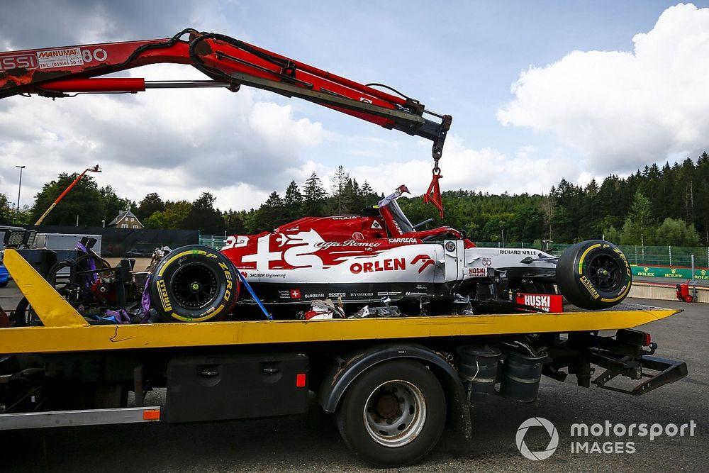F1: Alfa Romeo non cambia il telaio a Giovinazzi per Monza