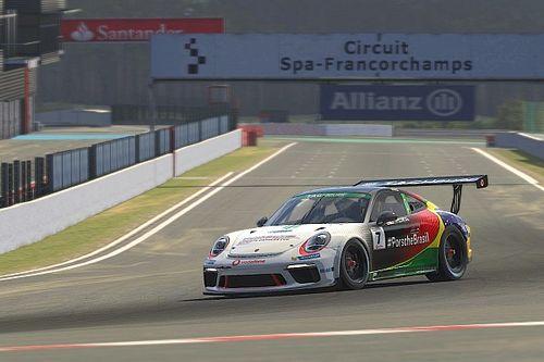 Giassi encara sétima etapa do mundial da Porsche TAG Heuer Esports Supercup em Spa