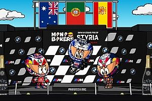 Vídeo: el accidentado GP de Estiria de MotoGP según MiniBikers