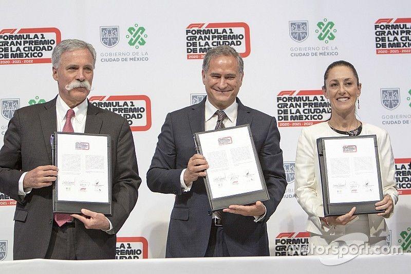 La F1 y México hacen oficial un acuerdo hasta 2022