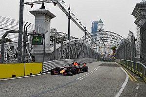 Verstappen snelste tijdens eerste training in Singapore