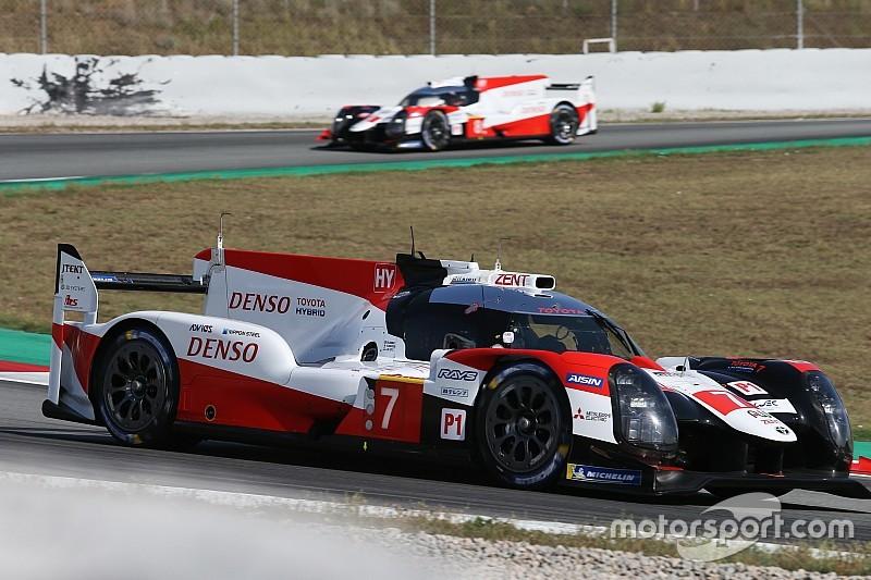 López manda en la sesión matutina del martes con Toyota