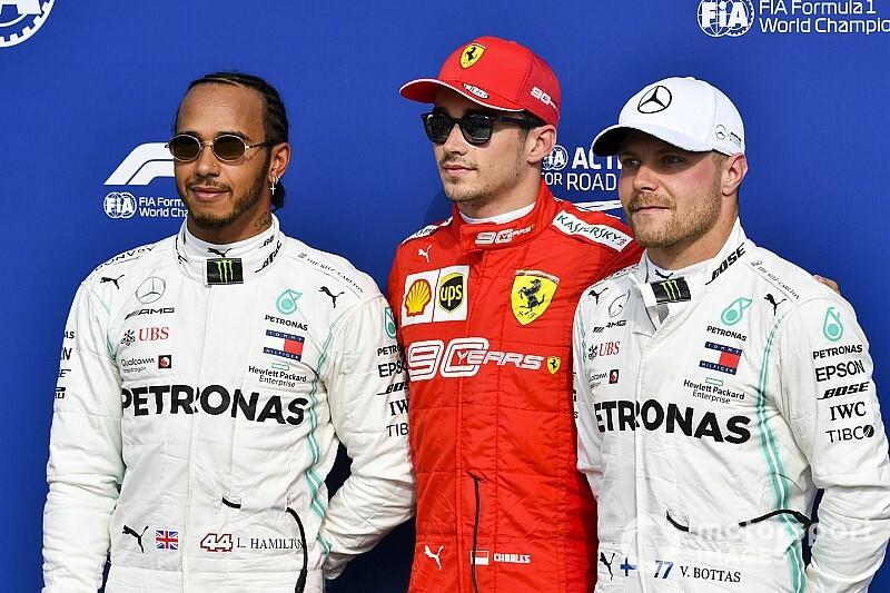 Победители всех квалификаций Формулы 1 сезона-2019