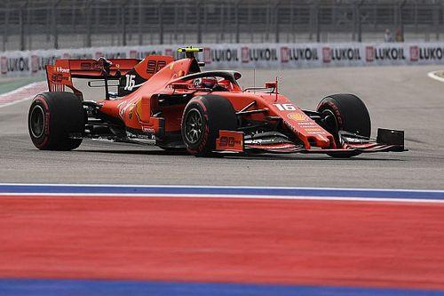 Volledige uitslag eerste vrije training Grand Prix van Rusland