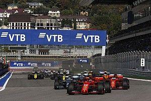 F1が2020年の最新カレンダーを発表。初開催ムジェロとソチが追加