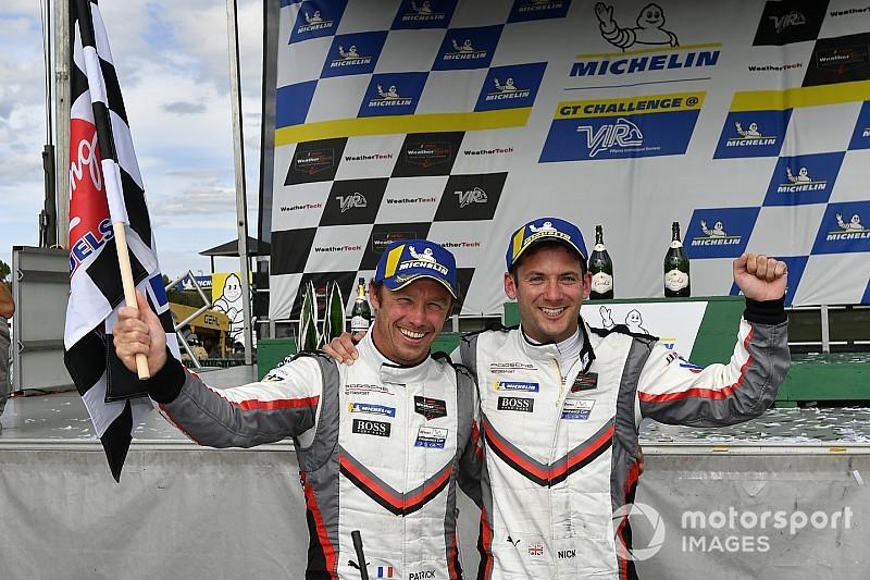 IMSA: Tandy e Pilet trionfano nella doppietta Porsche al VIR