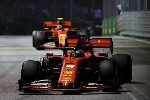 Ferrari думала поменять Феттеля и Леклера местами. Но не решилась