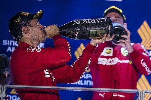Первый успех Ferrari за 11 лет. Интересная статистика Гран При Сингапура