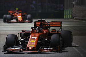 Ferrari considered Vettel/Leclerc swap in Singapore