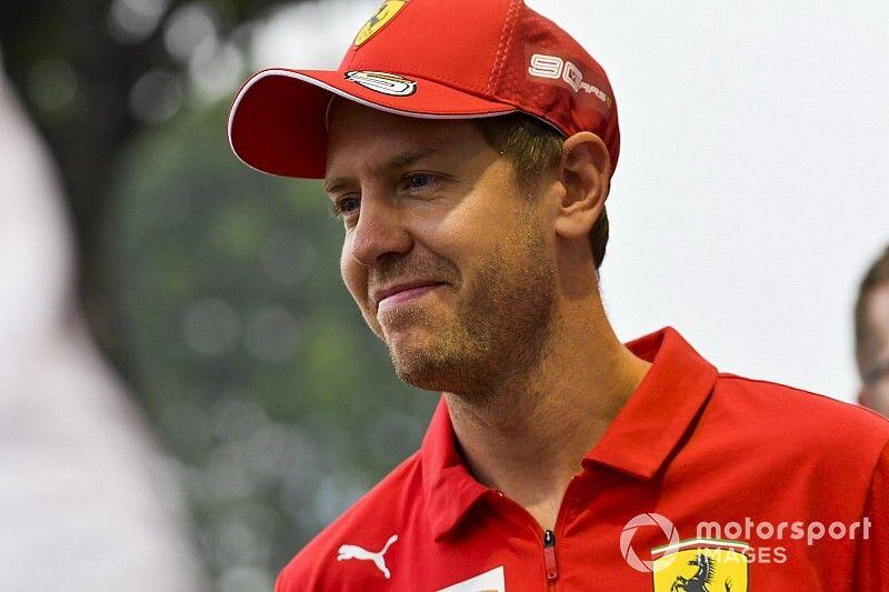 """Vettel élu """"Pilote du Jour"""" du GP de Singapour 2019"""