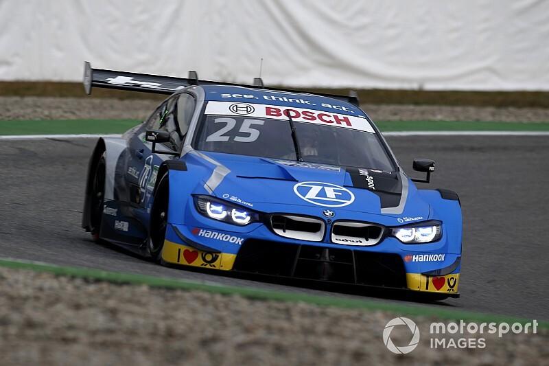 Poprawione BMW na testach DTM