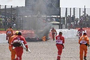 Dovizioso perde memória após acidente que deixou moto em chamas