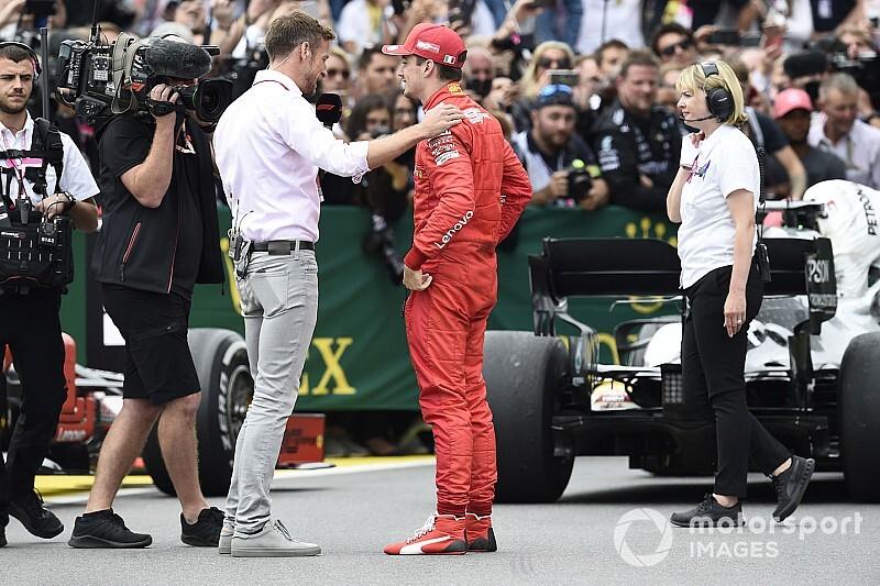 """Button: """"Ferrari'nin taktikleri çok garip"""""""