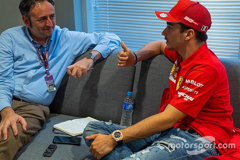 """Leclerc: """"Mi sveglio con un pensiero fisso: vincere con Ferrari"""""""