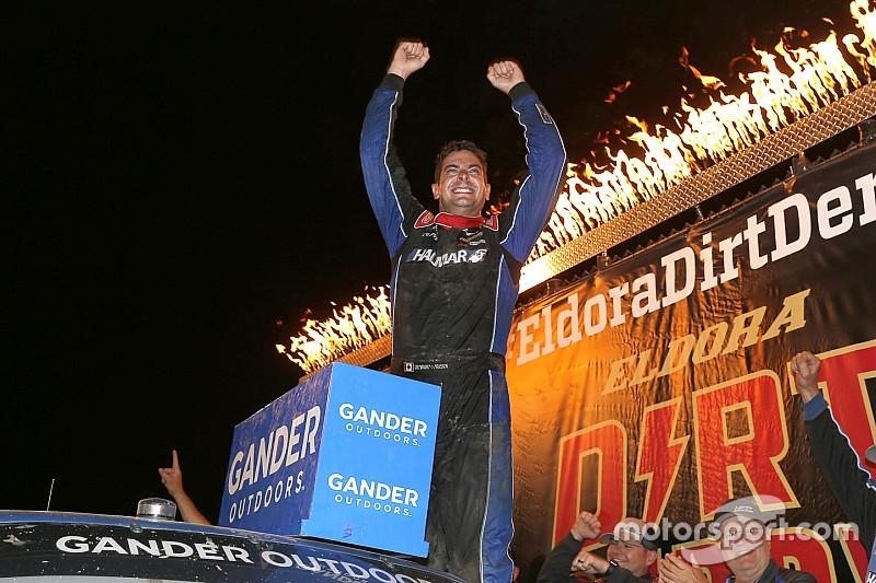 Stewart Friesen earns first Truck win in Eldora Dirt Derby