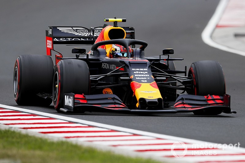 Hungarian GP: Gasly quickest before rain hits FP2