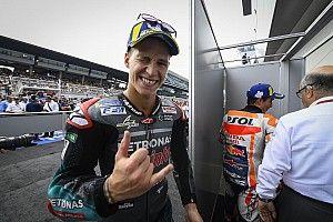 """Quartararo a """"préféré laisser"""" Márquez et Dovizioso et gérer ses pneus"""