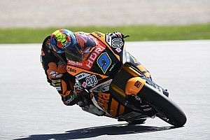 Moto2, Silverstone, Libere 2: Navarro al comando