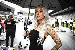 Fotogallery: le ombrelline del GP d'Austria infuocano il paddock