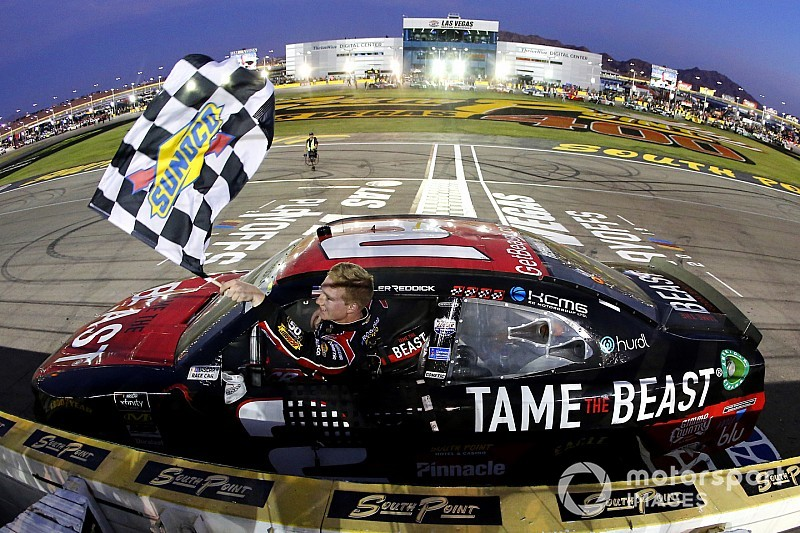 Reddick fuel gamble pays off with Las Vegas Xfinity win