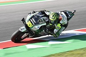 """Crutchlow """"absolutely nowhere"""" in Misano practice"""