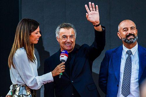 """Alesi: """"Ferrari, az én szerencsém"""""""