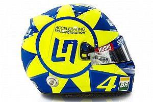 Norris portera un casque dédié à Valentino Rossi