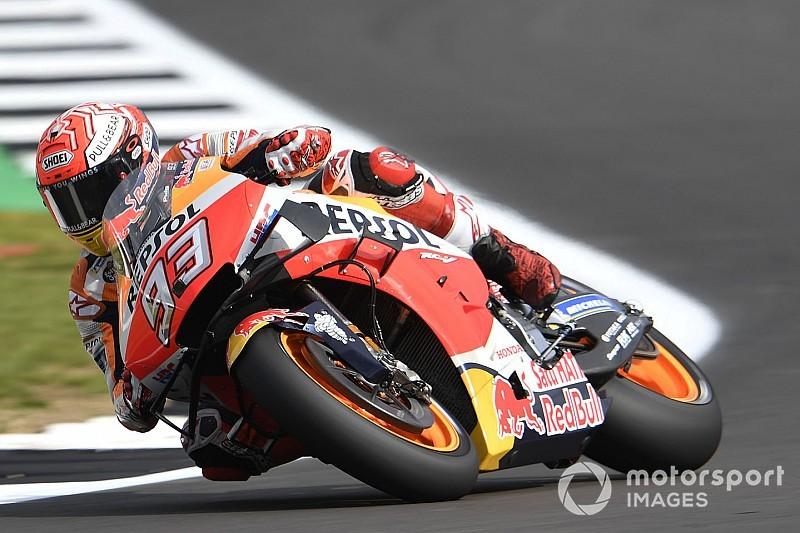 EL2 - Márquez bat le record de la piste malgré une chute!