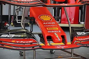 Ferrari tem novo 'bico'; veja atualizações aerodinâmicas direto do paddock em Singapura