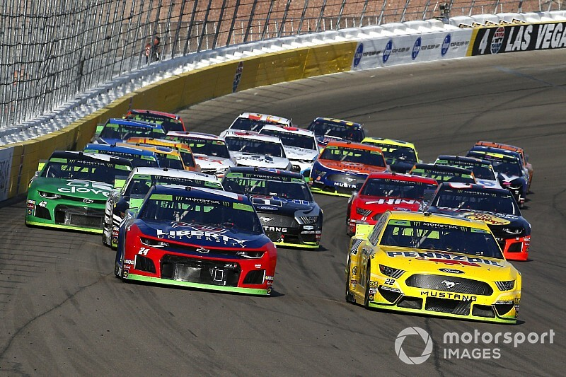 NASCAR weekend schedule at Las Vegas