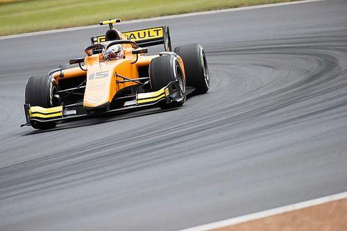 F2 Silverstone: Aitken wint thuisrace, De Vries naar podium