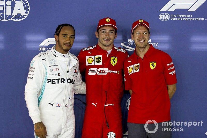 Parrilla de salida para el GP de Singapur