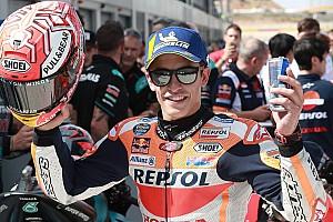 Márquez suma su novena pole de 2019 en Aragón