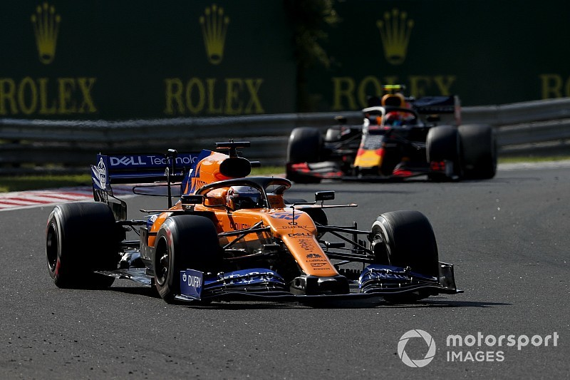 McLaren wants to halve gap to F1's top three in 2020