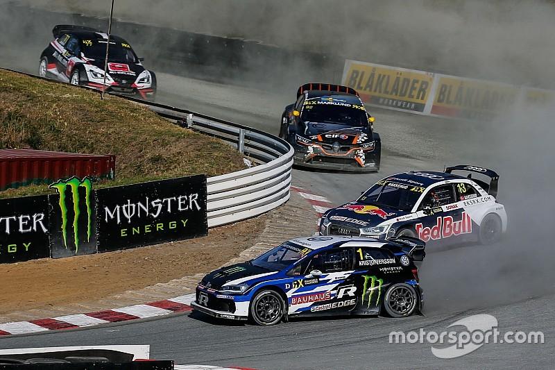Germany World RX: Kristoffersson beats Ekstrom to win