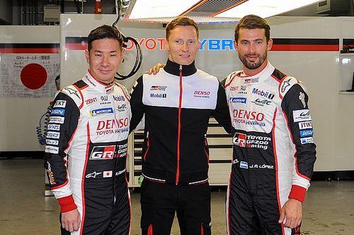 Fuji WEC: Kobayashi, Lopez lead all-Toyota front row