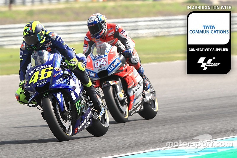 Dovizioso vs. Rossi: The fight to be runner-up