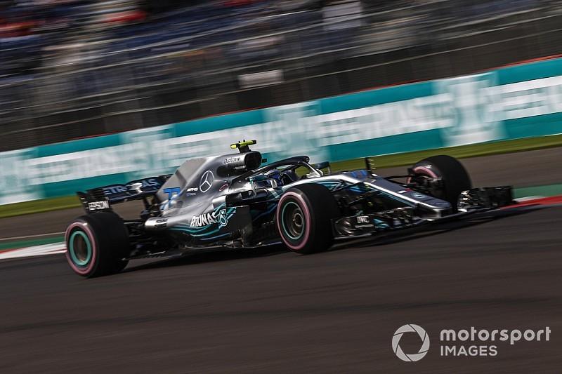 В тренировках на машинах Mercedes возникли проблемы с перегревом моторов