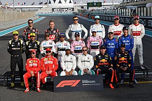 GALERÍA: La alineación de pilotos de F1 para el 2019