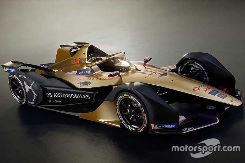 Techeetah представила ливрею новой машины Формулы Е