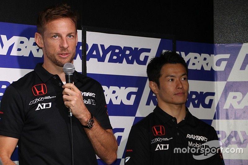 """Button vows to go """"aggressive"""" in new Super GT season"""